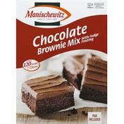 Manischewitz Brownie Mix, Chocolate, with Fudge Frosting