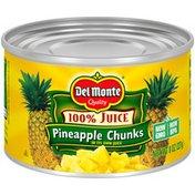 Del Monte Chunks in 100% Pineapple Juice Pineapple