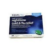 Equaline Multi-symptom Nighttime Cold & Flu Relief Softgels