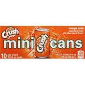 Crush Soda, Orange, Mini Cans
