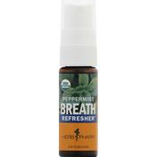 Herb Pharm Breath Refresher, Peppermint