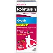 Robitussin Children's Fruit Punch Long-Acting Children's Robitussin Fruit Punch Long-Acting Cough Liquid