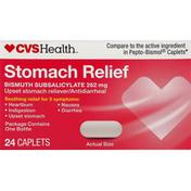 CVS Health Stomach Relief, 262 mg, Caplets