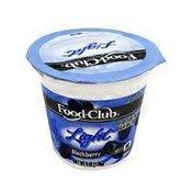 Food Club Light Blackberry Yogurt