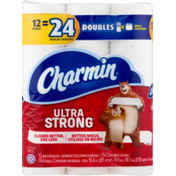 Charmin Ultra Strong Ultra Strong Toilet Paper Double Rolls Toilet Tissue