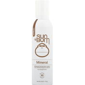 Sun Bum Whipped Sunscreen Lotion, Mineral, SPF 30