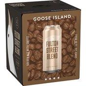 Goose Island Beer Co. Fulton Street Blend Beer Cans