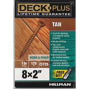 Deck Plus Screws, Tan, Wood & Fence