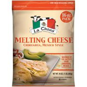 La Chona Chihuahua Mexico Style Melting Cheese