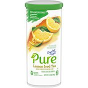 Crystal Light Lemon Iced Tea Naturally Flavored Powdered Drink Mix with No Artificial Sweeteners