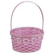 Publix Basket, Bamboo, Large