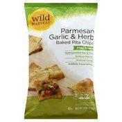 Wild Harvest Pita Chips, Baked, Parmesan Garlic & Herb
