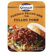 Gouveas Pulled Pork, Paniolo Brand BBQ, Sleeve