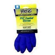 Big Time Heavy Duty Blue Gloves Size Medium