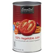Essential Everyday Vegetable Juice, 100%