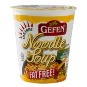 Gefen Instant Noodle Soup, Chicken Flavor, Fat Free