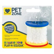 Pet Zone Rolling Toys Play-N-Squeak
