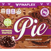 Finaflex Pies, Double Chocolate Chips, Oatmeal Protein