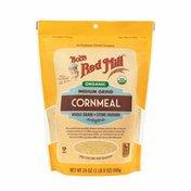 Bob's Red Mill Cornmeal, Medium Grind, Organic