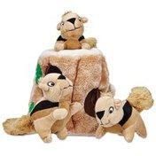 Outward Hound Hide-A-Squirrel Puzzle Plush Dog Toy