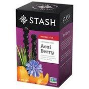 Stash Tea Caffeine Free Herbal Tea Bags Acai Berry