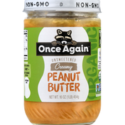 Once Again Peanut Butter, Creamy, Unsweetened