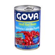 Goya Premium Small Red Beans, Low Sodium