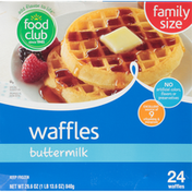 Food Club Buttermilk Waffles