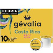 Gevalia Special Reserve Costa Rica Single Origin Medium-Dark Roast K-Cup Coffee Pods