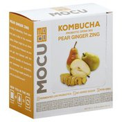 Mocu Probiotic Drink Mix, Kombucha, Pear Ginger Zing