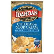 Idahoan Cheddar & Sour Cream Mashed Potatoes