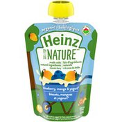 Heinz By Nature Blueberry, Mango & Yogurt Organic Purée