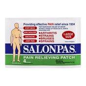 Salonpas Pain Relieving Patch Large - 4 CT