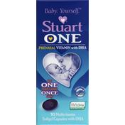 Stuart Multivitamin, Prenatal, Softgel Capsules