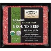 Organic Prairie Ground Beef 85/15 Lean 100% Grassfed Fresh Beef
