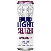 Bud Light Hard Seltzer Black Cherry, Can