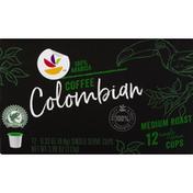 SB Coffee, 100% Arabica, Medium Roast, Colombian, Single Serve Cups