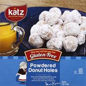 Katz Donut Holes, Gluten Free, Powdered
