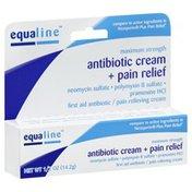 Equaline Antibiotic Cream + Pain Relief, Maximum Strength