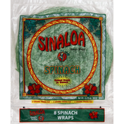 Sinaloa Wraps, Spinach