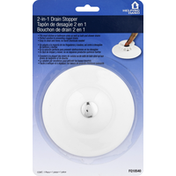 Helping Hand Drain Stopper, 2-in-1