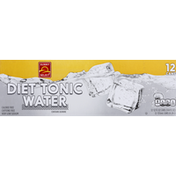 Sunny Select Tonic Water, Diet, 12 Pack