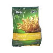 Meijer Extra Crispy Shoestring Fries French Fried Potatoes