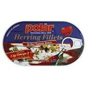 Polar Herring, Fillets, in Hot Tomato Sauce