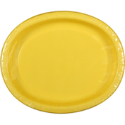 First Street Plates, Oval, Mimosa