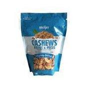 Meijer Lightly Salted Roasted Halves & Pieces Cashews With Sea Salt