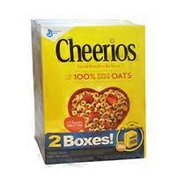 Cheerios Cereal, Double Pack