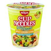 Nissin Very Veggie Spicy Chicken Flavor Ramen Noodle Cup Noodles Very Veggie Spicy Chicken Flavor Ramen Noodle Soup