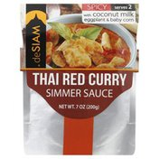 Desiam Simmer Sauce, Thai Red Curry, Spicy