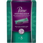 Poise Impressa®  Incontinence Bladder Supports for Women